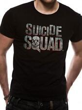 Official Licensed - SUICIDE SQUAD - Camiseta Con Logo Joker Harley Batman