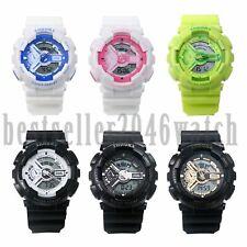 Men Women Multifunction Dual Time Zone Date Sports Quartz Electronic Wrist Watch