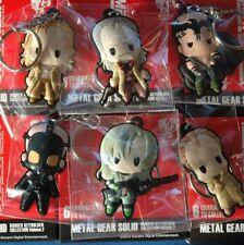 Metal Gear Solid - D4 Rubber Key Chain Vulcan Raven Psycho Mantis Decoy Octopus