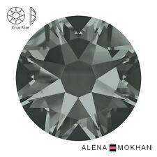 Hotfix Black Diamond Swarovski Flatback Crystals Xirius Rose 2078 ss16 ss20