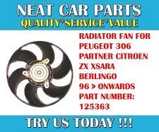 VENTOLA Radiatore Motore Per Peugeot 306 Partner 1.1 1.4 1.6 1.8 1.8 D 1.9 D 2.0 125363