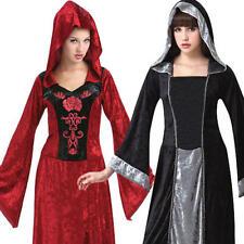 Gothic Maiden señoras vestido De Lujo Halloween Medieval Renacentista Para Mujer Disfraces