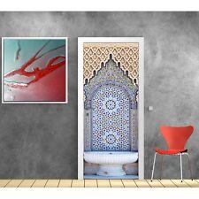 Pegatinas puerta decoración Fontaine oriental 792