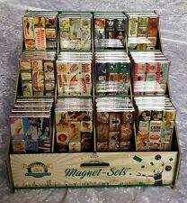 Kühlschrank-Magnet-Set - 9-teilig - Retro - Nostalgie- Viele Motive