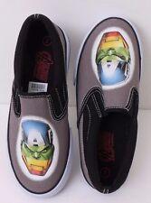 Kids MARVEL Comics Avengers Slip-On Canvas Sneakers Keds Tennis Shoes 1-4 Adult
