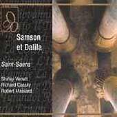 Saint-Saens Samson et Dalila Verrett,Cassily&Massard (Live 2 CD Set) LN BR104