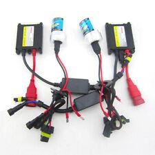 55W HID Xenon conversion kit Hi Lo H1 H4 H7 9005 9006 H11 4300K 6000K 8000K Set
