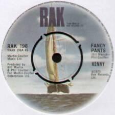 """KENNY ~ FANCY PANTS / I'M A WINNER ~ 1975 UK 7"""" SINGLE ~ RAK 196"""