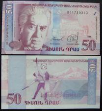 Armenia Paper Money 50 Dram 1998 UNC