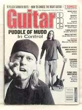 GUITAR ONE April 2002 PUDDLE OF MUDD BLACK SABBATH Riffs Incubus Slayer Tab
