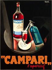 Italian POSTER. Campari Bar. Room Wall art Decor.Decorator's Paradise. 224i
