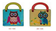 Kleiber Bastel-Set  Filztasche - Tasche EULE zum nähen, sticken für Kinder