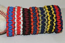 Baseball Paracord Bracelet Team Colors MLB Inspired NATIONAL LEAGUE CENTRAL