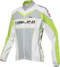 Nalini Stresa Long Sleeve Cycling Jersey - Italian Made - White / Green - £85