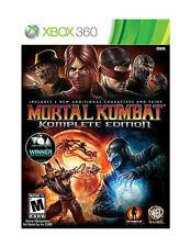 Mortal Kombat: Komplete Edition (Microsoft Xbox 360, 2012) Platinum Hits (New)