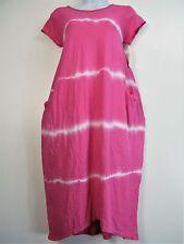 100% cotone LOOK a strati vestito con 2 TASCHE LATERALI 9 COLORI
