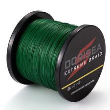 DORISEA Power Braid EXTREME Braided Fishing Line 100M 300M 500M 1000M Moss Green