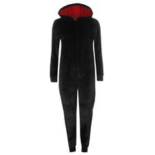DISNEY combinaison capuche pyjama femme MINNIE noir XS S M L 34 36 38 40 42