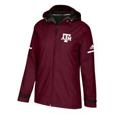 Texas A&M Aggies NCAA Adidas Women's ClimaWarm Maroon Game Built Rain Jacket