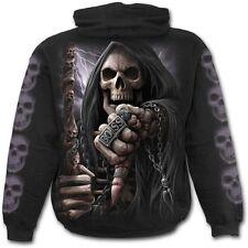 Spiral Boss Reaper Hoodie - Black - Men's