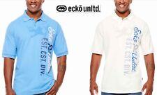 NWT 2XLT, 2XB, 3XB Ecko Unltd Rhino Men Big & Tall Short Sleeve Knit Polo Shirt
