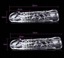 4cm Transparente Alargador Funda Para Pene,Erección Eyaculación Precoz &