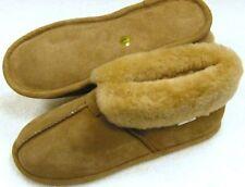 Men Sheepskin  Bootie House Shoe Slipper Moccasins Medium (D, M)  NEW