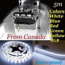 5M Waterproof LED Strip Light 300 LEDs Boat/Truck / Car/ Rv 2835 RGB / Color 12V