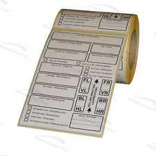 tire labels / Reifenetiketten für Einlagerung - EXTRA STARK haftend - 200 ...