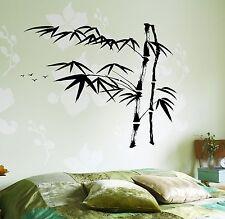 Wall Decal Tree Bamboo Bird Bedroom Vinyl Sticker (z3641)