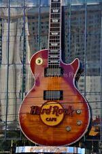 Hard Rock Cafe guitar Las Vegas Nevada USA photograph picture poster art print
