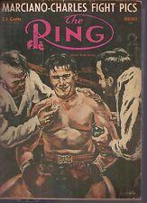 Ring Magazine Marciano-Charles Fight Pics November 1954