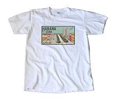 Vintage Habana Cuba Travel Decal T-Shirt - Havana, Sevilla Biltmore, El Prado