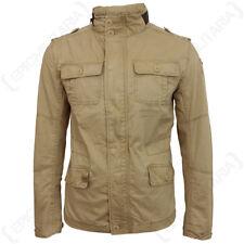 Brandit Britannia Jacket - Coyote - Coat Khaki Military Hood Top All Sizes New