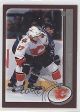 2002-03 Topps #72 Marc Savard Calgary Flames Hockey Card