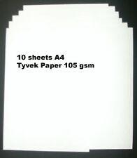 Tyvek A4 105 gsm - Pack of 10 sheets Tyvek Paper