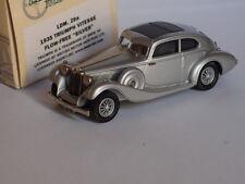 1935 TRIUMPH VITESSE FLOW-FREE SILVER LANSDOWNE BROOKLIN LDM 29A 1/43