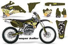 AMR RACING STICKER BACKGROUND GRAPHIC DECAL YAMAHA YZ450F YZ YZ250F 06-09 VBYWBF