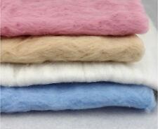 100% Wool Fluffy Felt Fleece Soft Blanket Newborn Baby Shower Photography Props