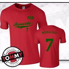 Ronaldo #7 Portugal T-shirt PORTUGAL Coupe du monde 2018 Fan T-shirt shirt Cristiano