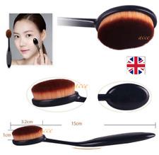 Cepillo del maquillaje crema contorno de polvo Fundación cepillos ovales Blush Kabuki Herramienta UK