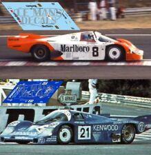 Calcas Porsche 956C Le Mans 1983 8 21 1:32 1:43 1:24 1:18 64 87 956 slot decals