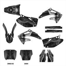 2002 2003 2004 CRF450R CRF 450 450R graphics deco kit #6666 Metal
