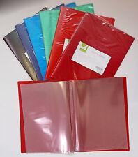 Zeugnismappe Sichtbuch Sichthüllenmappe Präsentationsmappe A4 20 Hüllen