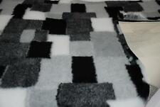 PROFESIONAL antideslizante Veterinario perro Manta de Mascota Patchwork - Negro