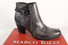Marco Tozzi Botas mujer botines botas de cordón, Botas Gris 25051 NUEVO