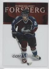 2003-04 Topps Pristine #100 Peter Forsberg Colorado Avalanche Hockey Card