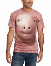 The Mountain Men's Pig Face Head T-Shirt