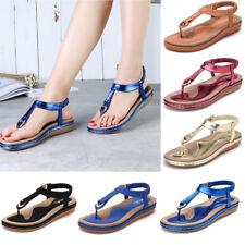 SOCOFY Women Comfortable Elastic Clip Toe Flat Beach Sandals Clip Toe Flip Flops