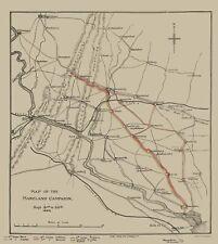 Civil War Map Print - Maryland Campaign - George Allen  1862 - 23 x 25.80